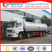 China Fabricante 32CBM Diesel Depósito de combustible Petrol Tanker Truck