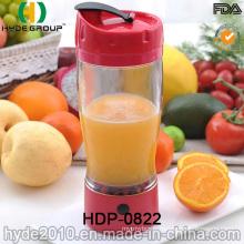 Hot Sale Plastic Vortex Juice Bottle (HDP-0822)