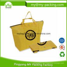 Bolso de compras promocional no tejido de Eco Foldaway PP