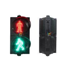 Guidage de la sécurité routière 300mm LED feu de signalisation pour piétons