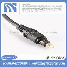 Digital Optical Optic Fiber Toslink Audio Kabel 3m OD 2.2mm