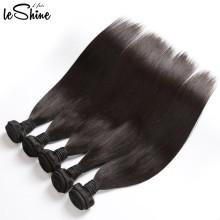 Livraison gratuite US cheveux raides avec fermeture