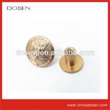 Antique Military Button / Fashion Plastic Shank Button / Garment Button