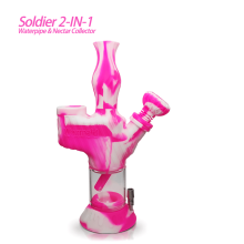 Soldier 2 in 1 Water Pipe& Nectar Collector