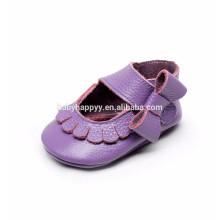 Zapatos de bebé de cuero suave zapatos de bebé hermosa sandalia bebé
