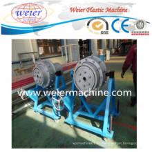 Línea de producción de maquinaria de extrusión de tubería de plástico para HDPE LDPE PE