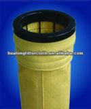 Aramid filter bag for blast furnace gas, non-ferrous metal smelting,asphalt mixing plant