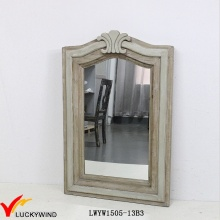 Retro Style Wood Framed Antique Wall Mirror UK