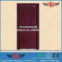 JK-F9006 porta de madeira à prova de fogo interior superior com barra de pressão