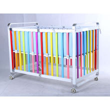 Ce approved european and australia type popular modern baby cribs