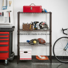 Powder Coated Ikea Metal Garage Wire Shelving with NSF Approval