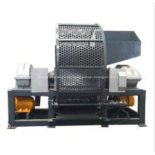 Máquina trituradora de dos ejes para residuos de neumáticos de muebles