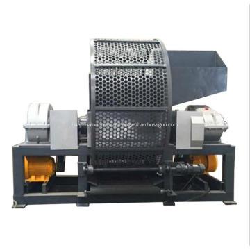 Máquina da retalhadora de dois eixos para o pneu da mobília Waste