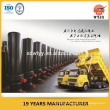 Multietapa cilindro hidráulico para camión de construcción