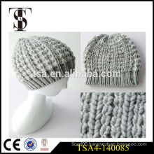 low price custom patch winter beanies hat knitted women high quality winter hat