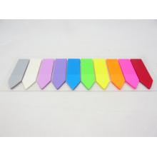 Selbstklebende Neonfarbe Pet Index Haftnotizen (9613)