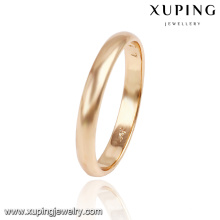 13766- Xuping Jewelry Simple Fashion Style and Hot Sale Wedding Ring