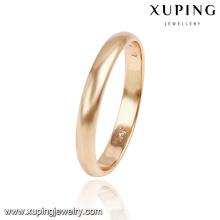 13766- Xuping Jóias Estilo Moda Simples e Anel de Casamento Venda Quente