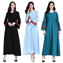 Diseños de moda moderna étnica Mujer Ropa Abaya Turquía