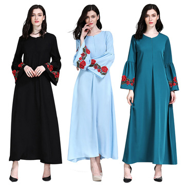 Fashion Designs Modern Ethnic Women Clothing Abaya Turkey