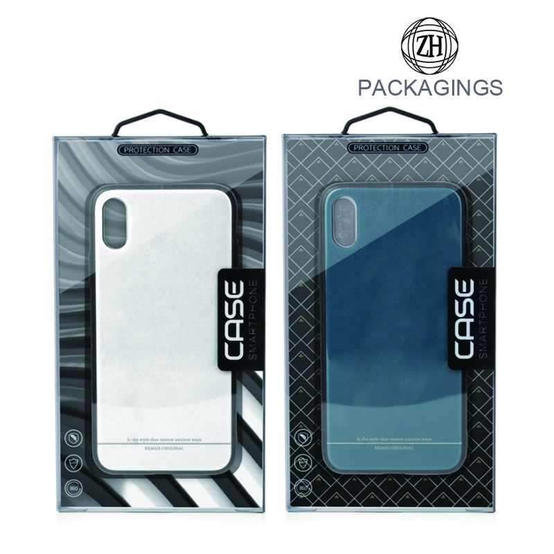 5.5 IPhone case clear box package