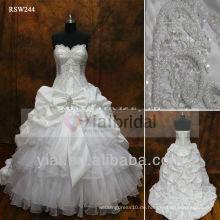 RSW244 Schatz Kristall Appliques für Hochzeitskleider