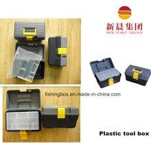 Серый цвет материала PP ящик для инструментов