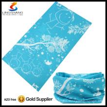 Mode Multifunktions billig Großhandel 100% Polyester elastische maßgeschneiderte nahtlose Schlauchbandana