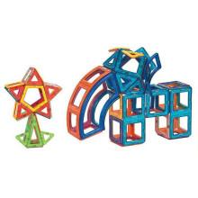 Brinquedos educativos magnéticos furar blocos de construção magnéticos