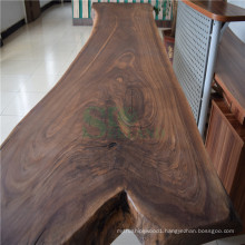 American Walnut Table Top Used on Living Room Coffee Table