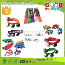 Instrumentos de juguete baratos y juguetes musicales de calidad superior juguetes, muñeca y tobillo Bells juguetes