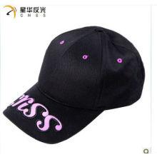 100% Baumwolle Mode reflektierende Kappe
