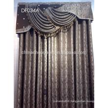Latest curtain design classic jacquard curtain