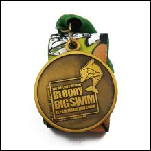 Médaille de métal récompensée de bain avec anti-plaqué or (GZHY-JZ-022)