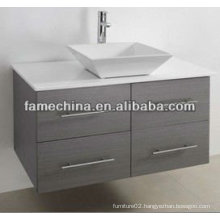 2013 Four Drawers Wood Veneer Modern Vanity