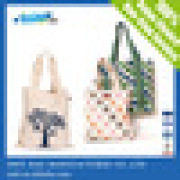 Recyclable Customized Canvas Tote Bag/Beach tote bag wholesale