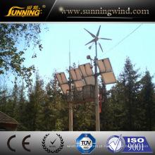 sistema verde híbrido solar do vento da fora-Grade