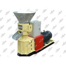 Homemade Biomass Pellet Machine , Small Flat Die Wood Pellet Press Machine