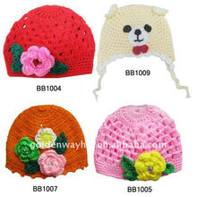 Gorra de ganchillo sombrero de punto bebé
