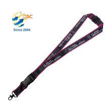 Printed Lanyard With Custom Logo, No Minimum With Safety Clip