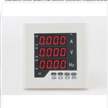Uif63 Tamaño del marco 72 * 72 Precio de fábrica monofásico AC Volt AMP digital combinado medidor, para uso industrial