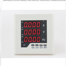 Uif23 Panel Size 120*120 Single-Phase AC LED Industrial Usage Digital Volt Ampere and Hertz Combined Meter