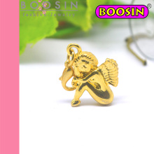 Gold Cupid Angel Charm Pendant Wholesale #17813