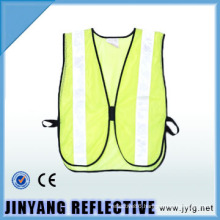 100% polyester high visibility mesh reflective security vest for children