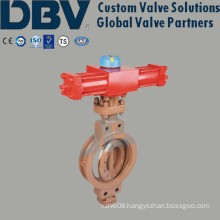 Hydraulic Wafer Metal Seated Butterfly Valve