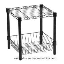 Rincón de baño de acero inoxidable de almacenamiento de rack (CJ452560C2E)