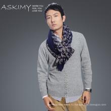 Шерстяные шарфы мужские 100% шерстяные фарфоровые шарфы оптом