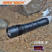 Maxtoch DI6X-2 étanche LED Plongée T6