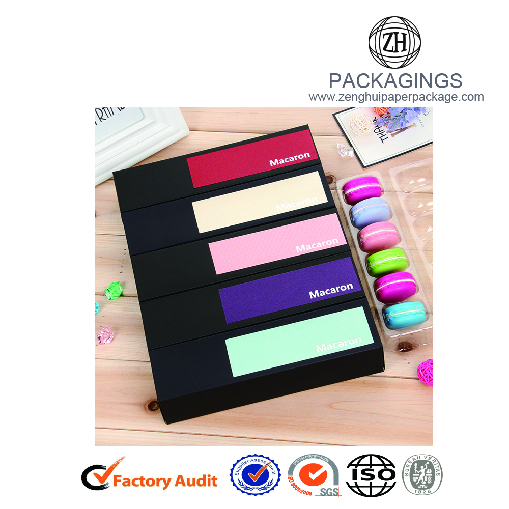 Ny Fancy Macarons Paper Packaging Box