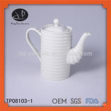 TP08103-1 Tetera china del té de la caldera del restaurante de cerámica de la buena calidad tetera
